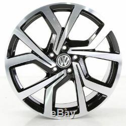 VW Golf 7 GTD Gti Jeu de Jantes Brescia Jantes 19 Roues en Alliage Pouces
