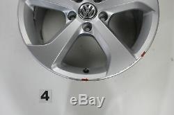VW Golf 7 Gti GTD Jantes 17 Roues en Alliage Pouces Brooklyn 5G0601025BG