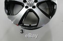 VW Golf 7 Gti GTD Jantes en Alliage 18 Pouces Jeu de Austin 5G0601025AS