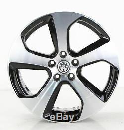 VW Golf 7 Gti GTD Jantes en Alliage 18 Pouces Jeu de Jantes Austin Jantes