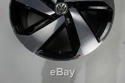 VW Golf 7 Gti GTD Jantes en Alliage 18 Pouces Jeu de Milton Keynes 5G0601025CN