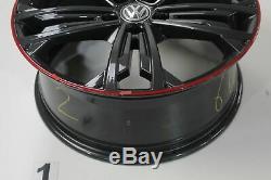 VW Golf 7 Gti GTD Jantes en Alliage 18 Pouces Séville Jeu de Graphite