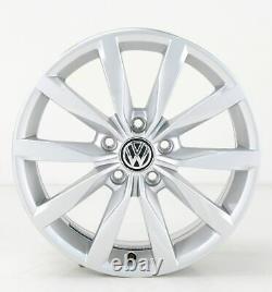 VW Golf 7 & Gti GTD Jantes en Alliage Dijon 17 Pouces Jeu de 5G0601025K