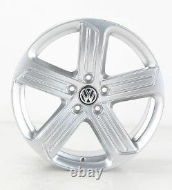 VW Golf 7 Gti GTD & R Jantes en Alliage Cadiz Argent 18 Pouces 5G0601025BK