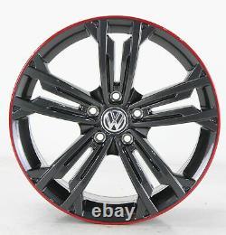 VW Golf 7 Gti GTD & R Jantes en Alliage Sevilla Gris 18 Pouces 5G0601025DR