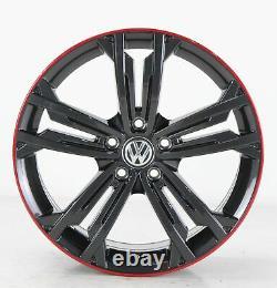 VW Golf 7 Gti GTD & R Jantes en Alliage Sevilla Gris Jantes 18 Pouces