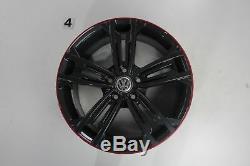 VW Golf 7 R-Line Gti GTD Jantes 18 Pouces Sevilla Jeu de 5G0601025DR