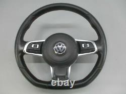 VW Golf 7 VII 5G1 2.0 Gti Volant 5Q0419091 Cuir Coutures Rouges
