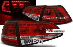 VW Golf 7 VII Dynamique LED Feux en Rouge Gti R Clubsport Regardez Sequenziell