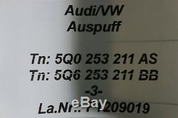VW Golf 7 VII Gti 2.0TFSI Système D'Échappement Silencieux Échappement ESD