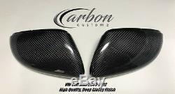 VW Golf MK6 Fibre de Carbone Remplacement Coque Rétroviseur Gti R 2009-2012