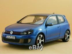 VW Volkswagen Golf GTI 2009 Mercato bluemetallic Norev 118
