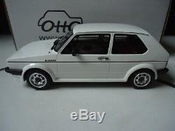 VW volkswagen golf gti 16S oettinger 1/18 otto ottomobile OT043 3000ex
