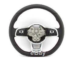 Volant Multifonctions, Volant, Gti, Sport, Assistenz, Cuir # VW T-Roc, Golf 7