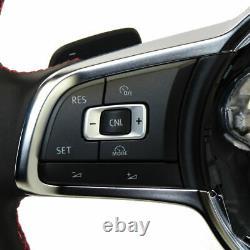 Volant Sport Mfa Interrupteur Swing VW Golf 7 Gti Original Volant en Cuir Noir