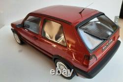 Volkswagen Golf 2 GTI G60 G019 Otto Ottomobile 1/12 Rare