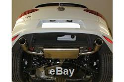 Volkswagen Golf 7 Gti (au) Pot D'Échappement Duplex Fox 1x100