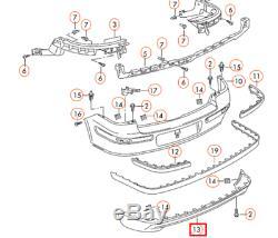 Volkswagen Golf MK4 Gti Pare-Chocs Arrière Spoiler Bague 1J6807521CB41 Neuf