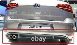 Volkswagen Golf MK7 Gti 12-18 Arrière Pare-Choc Diffuseur Original 5G6807568E9B9