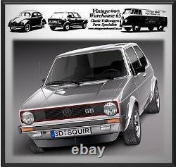 Volkswagen Golf Mk1 Mk2 & Gti Set Complet Avant Arrière Automatic Kit Ceinture