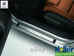 Volkswagen Original VW Seuils de Porte Acier Inoxydable Golf 6 Gti 2 Portes