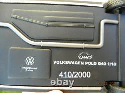 Volkswagen POLO G40 1/18 Ottomobile golf gti