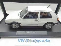 Volkswagen VW Golf 2 GTI G60 De Norev IN 118 Blanc Neuf 188443