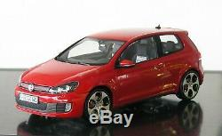 Volkswagen VW Golf 6 Gti 2-Türig Tornade Rouge 118 Norev