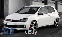 Volkswagen VW Golf 6 VI MK6 Bas de Caisse 2008-2014 GTI Design Jupes Latérales