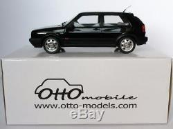Volkswagen VW golf 2 GTI 16S noire black otto ottomobile 1/18 1500 ex OT514