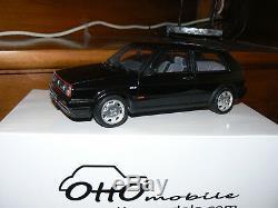 Volkswagen golf 2 gti 16s 1/18 118 otto ottomodels ottomobile tbe + boite