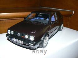 Volkswagen golf gti g60 edition one 1/18 118 otto ottomobile ottomodels boxed