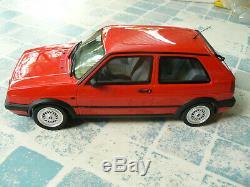 Volkswagen vw golf gti g60 1/18 118 otto ottomobile ottomodels boxed