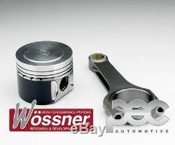 Wossner Piston Forgé + Pec Bielle Kit pour Volkswagen Golf MK5 Gti ED30 2.0TFSI